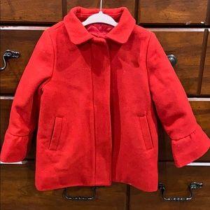 Red Zip-Up Coat